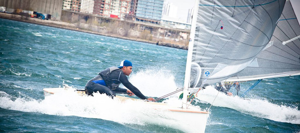Greg Douglas and Chris Cook Rumble on Toronto Harbour
