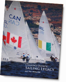 The cover of Canada's Olympic Sailing Legacy