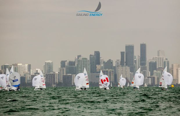 Racing in Miami - Photo Credit Sailing Energy